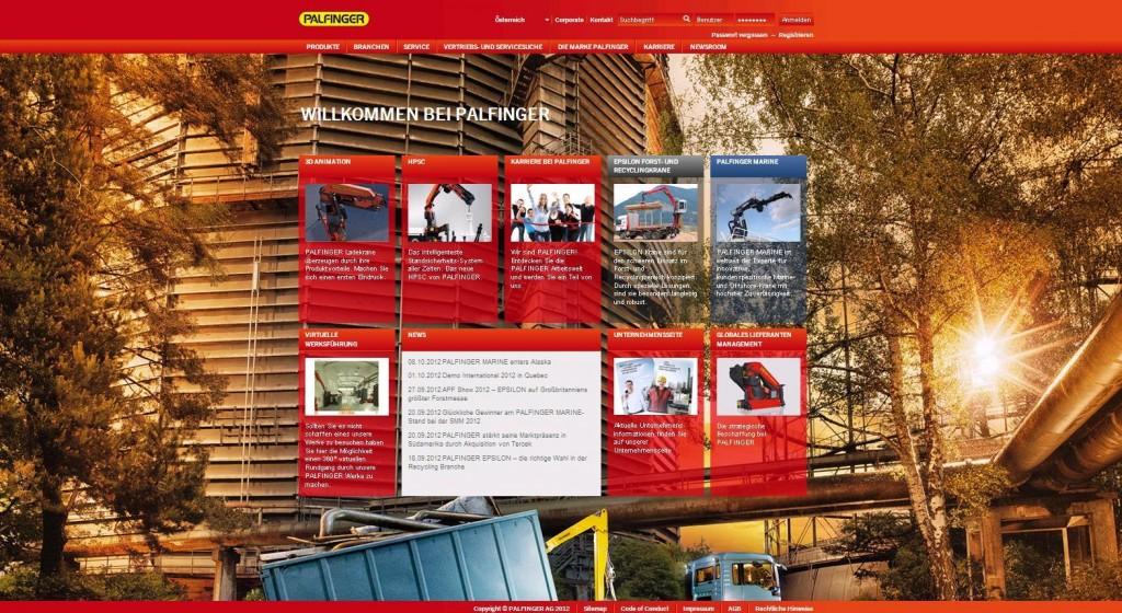 neue Webseite - Produkte