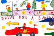 Kinderzeichnung_02_Sportwagenausfahrt