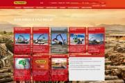 PALFINGER Brasilien Webseite