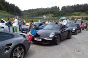 Dr. Helmut Eggert/Porsche mit seinem Schützling
