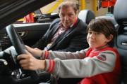 Hannes Roither/PALFINGER AG mit seinem Co-Piloten