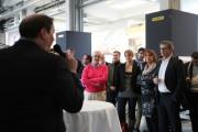 Hannes Roither begrüßt die Gäste