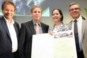 Träger des Oö. Landespreis für Umwelt und Nachhaltigkeit 2014