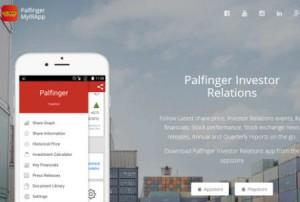 Die neue PALFINGER Investor Relations App ist da!
