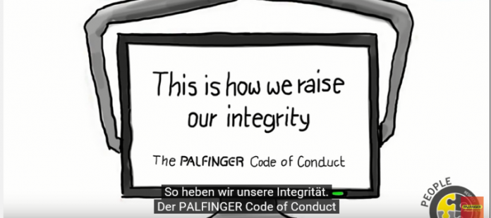 Our Code of Conduct = Our Integrity