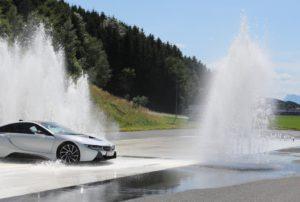 Energieeffizientes und sicheres Fahren im ARBÖ-Fahrsicherheitszentrum mit PALFINGER Firmenwagen