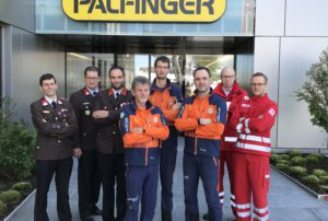 PALFINGER EMPLOYEES HELP SAVE LIVES