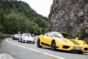 Sportwagenausfahrt 2018 – die Motoren werden schon vorgewärmt